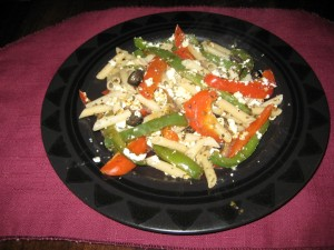 Peppers and Pasta